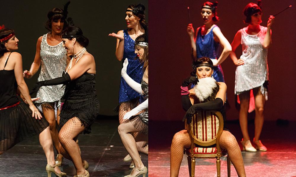El cabaret musical forma parte del estilo burlesque, donde la interpretación e incluso el canto son